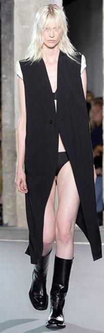 Rick Owens 2016春夏巴黎时装周