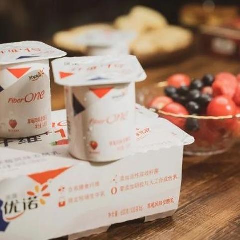 """优诺纤维+1号:这款酸奶,专治各种""""消化不良"""""""
