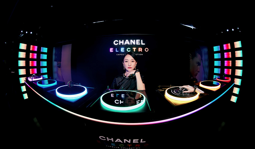 CHANEL 明星著裝 | 香奈兒品牌形象大使周迅等出席 CHANEL ELECTRO 腕表發布派對